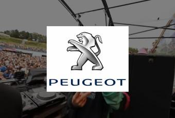 Peugeot - zwart-wit