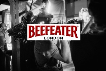 Beefeater Viral & Activation - zwart-wit