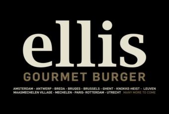 Spot Ellis Gourmet Burger - zwart-wit